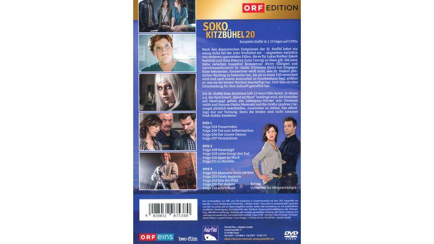 SOKO Kitzbuehel Box 20 3 DVDs