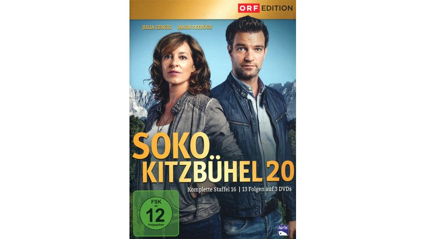SOKO Kitzbuehel Box 20 3 DVDs