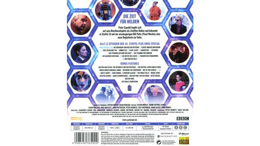 Doctor Who Die komplette 10 Staffel 5 BRs