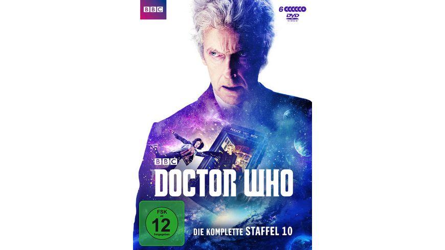 Doctor Who Die komplette 10 Staffel 6 DVDs