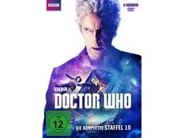 Doctor Who Die komplette 10 Staffel 6 DVDs