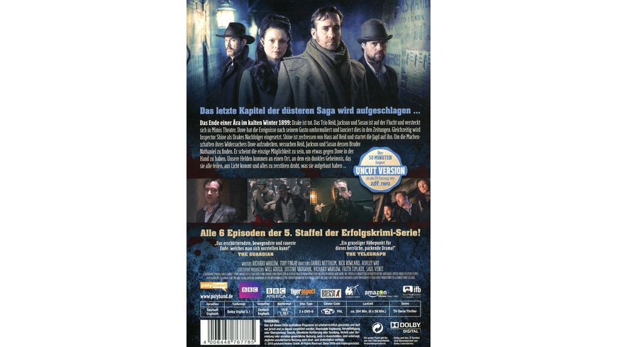 Ripper Street Staffel 5 Uncut 2 DVDs