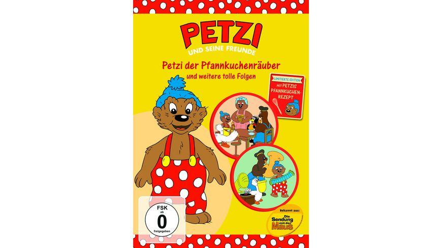 Petzi und seine Freunde Petzi der Pfannkuchenraeuber
