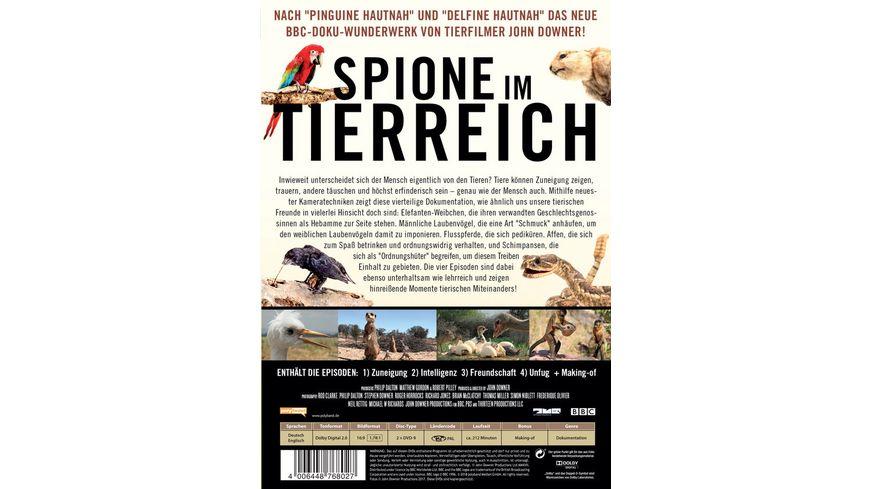 Spione im Tierreich 2 DVDs