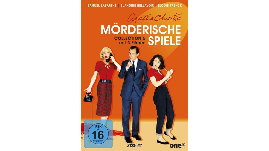 Agatha Christie Moerderische Spiele Collection 5 2 DVDs