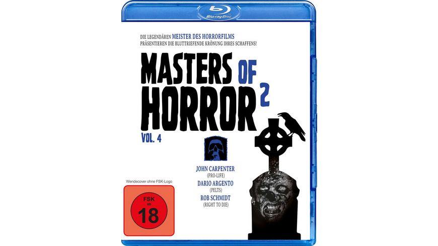 Masters of Horror Vol 2 Vol 4 Carpenter Argento Schmidt