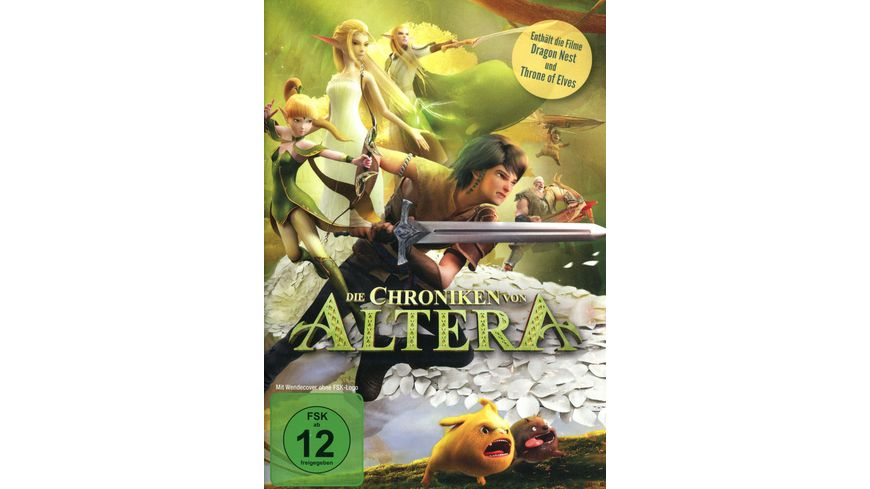 Die Chroniken von Altera 2 DVDs