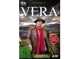 Vera Ein ganz spezieller Fall Staffel 6 4 DVDs