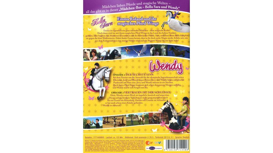 Bella Sara Wendy Maedchen Box 2 DVDs