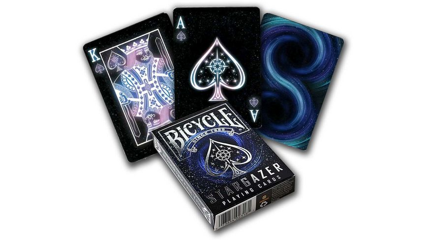 Bicycle Poker Kartendeck Stargazer Kartenspiel