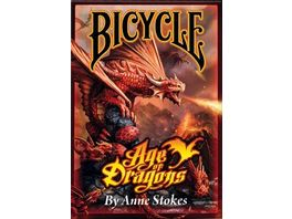Bicycle Poker Kartendeck Age of Dragons