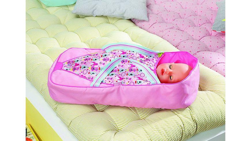Zapf Creation Baby born Schlaf und Tragetasche
