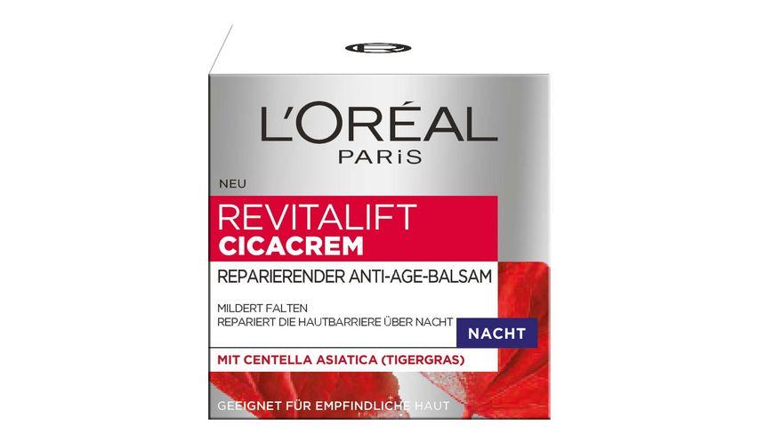 L OREAL PARIS REVITALIFT CICACREM Reparierender Anti Age Balsam Nacht