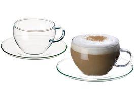 Cappuccino Sets Eva 4 Sets