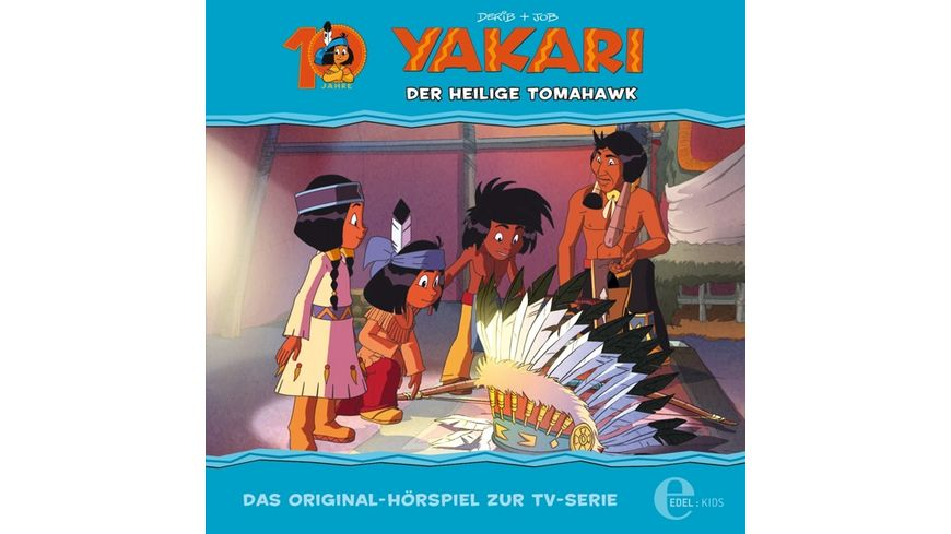 32 Original Hoerspiel z TV Der Heilige Tomahawk