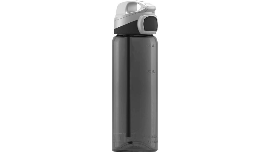 SIGG Trinkflasche Tritan Miracle Anthracite 0 6 l