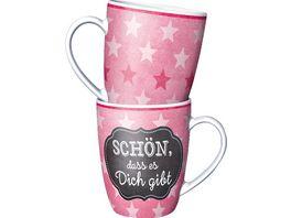 Geschenk Fuer Dich Kaffeebecher Schoen dass es dich gibt