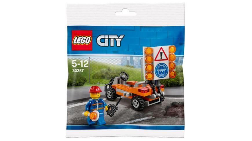 LEGO City Polybag 30357 Strassenarbeiter