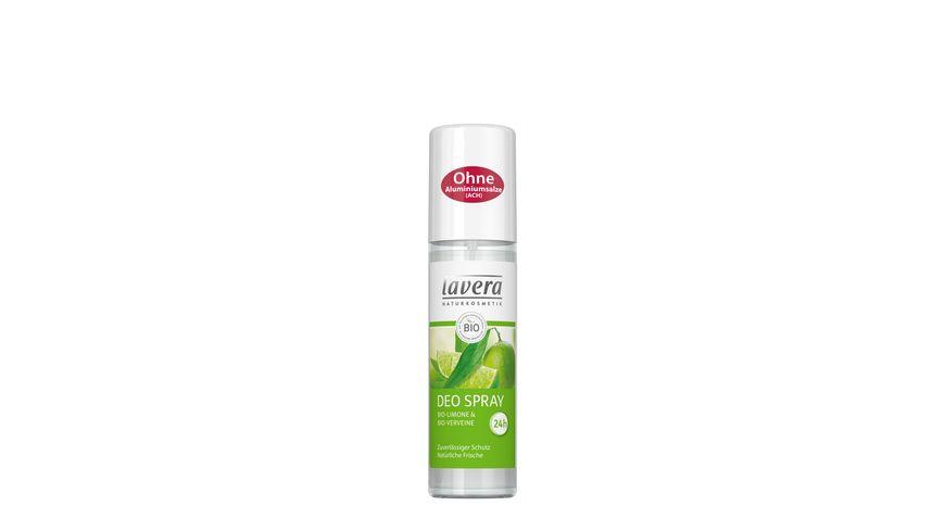 Lavera Deo Spray Bio Limone und Bio Verveine