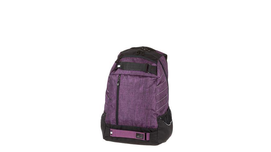 WINGMAN Schulrucksack Posh violet melange