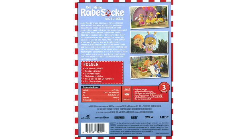 Der kleine Rabe Socke Die TV Serie 7