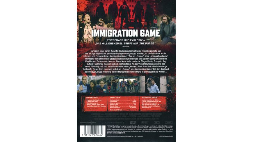 Immigration Game