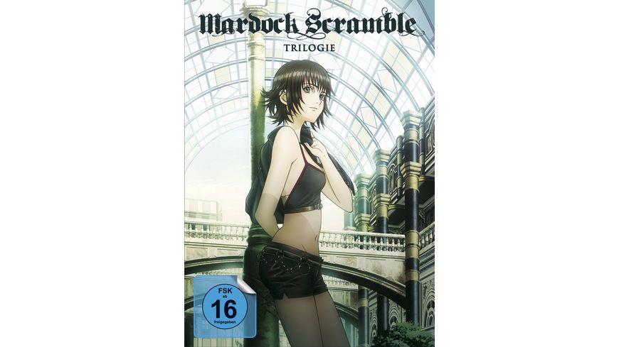 Mardock Scramble Trilogie 3 DVDs