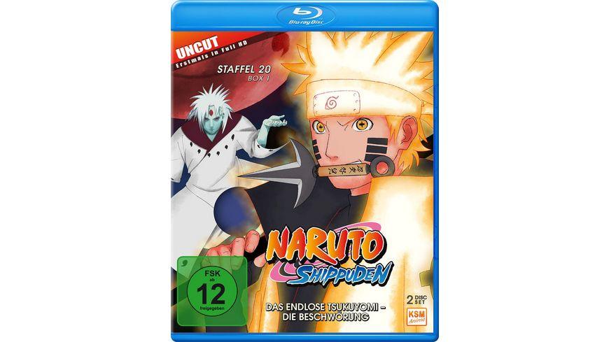 Naruto Shippuden Das endlose Tsukuyomi Die Beschwoerung Staffel 20 1 Folgen 634 641 Uncut 2 BRs