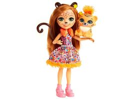 Mattel Enchantimals Gepardenmaedchen Cherish Cheetah Puppe