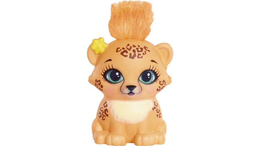 Mattel Enchantimals Gepardenmaedchen Cherish Cheetah Puppe