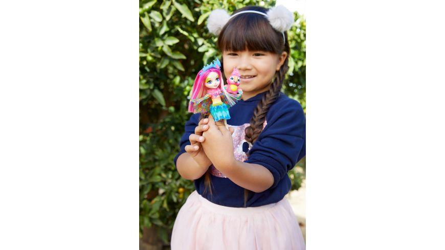 Mattel Enchantimals Papageienmaedchen Peeki Parrot Puppe