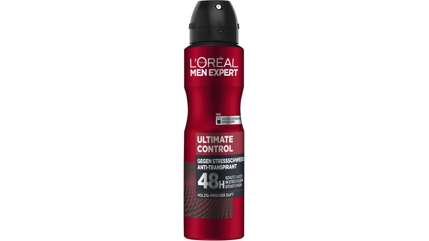 L OREAL PARIS MEN EXPERT Deospray Ultimate Control