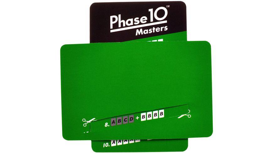 Mattel Games Phase 10 Masters