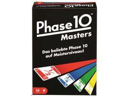 Mattel Games Phase 10 Masters Kartenspiel Gesellschaftsspiel Familienspiel