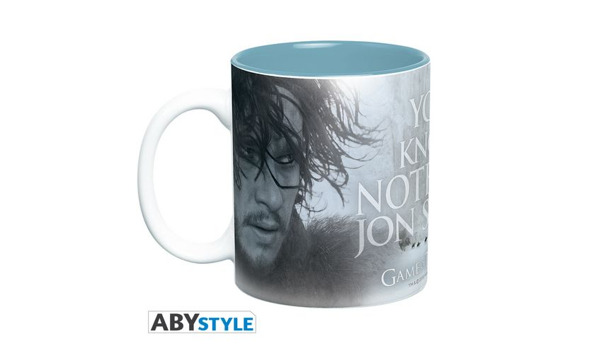 Game of Thrones You Know Nothing Tasse 460 ml