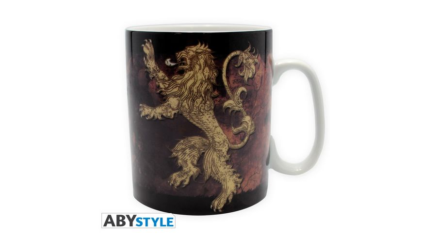 Game of Thrones Lannister Tasse 460 ml