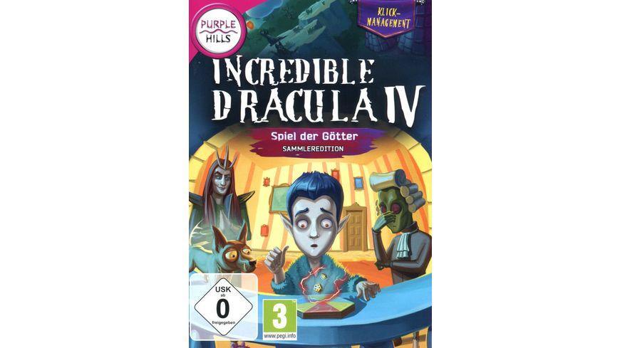 Incredible Dracula 4 Spiel der Goetter