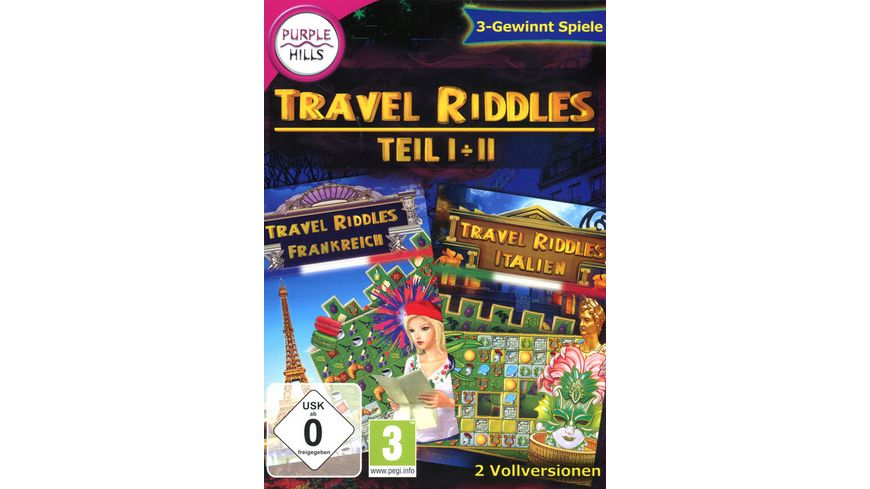 Travel Riddles 1 2