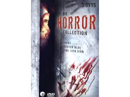 Die Horror Collection 3 DVDs