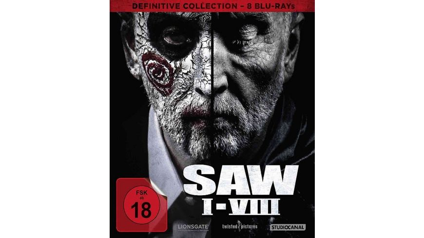 SAW I VIII Definitive Collection 8 BRs