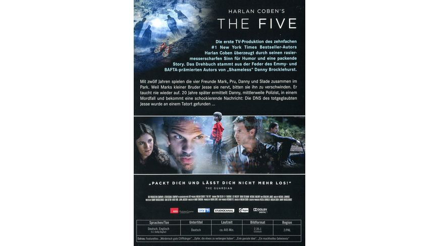 The Five Die komplette Serie 3 DVDs