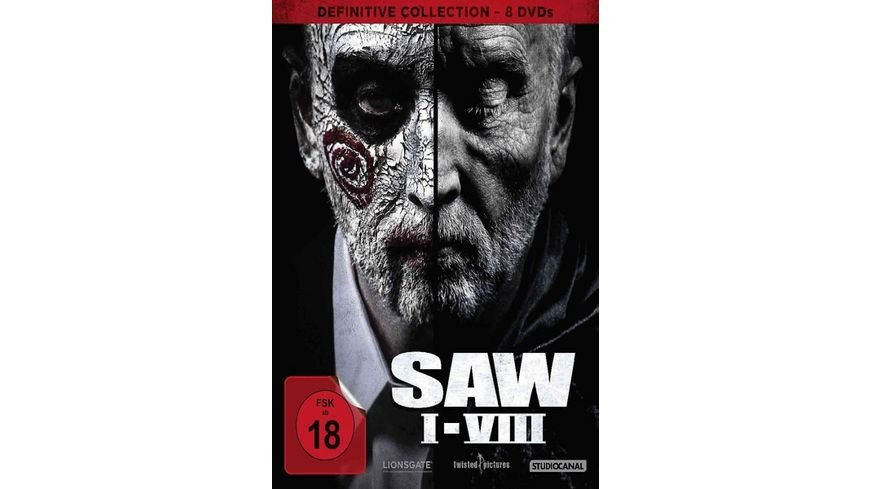 SAW I VIII Definitive Collection 8 DVDs