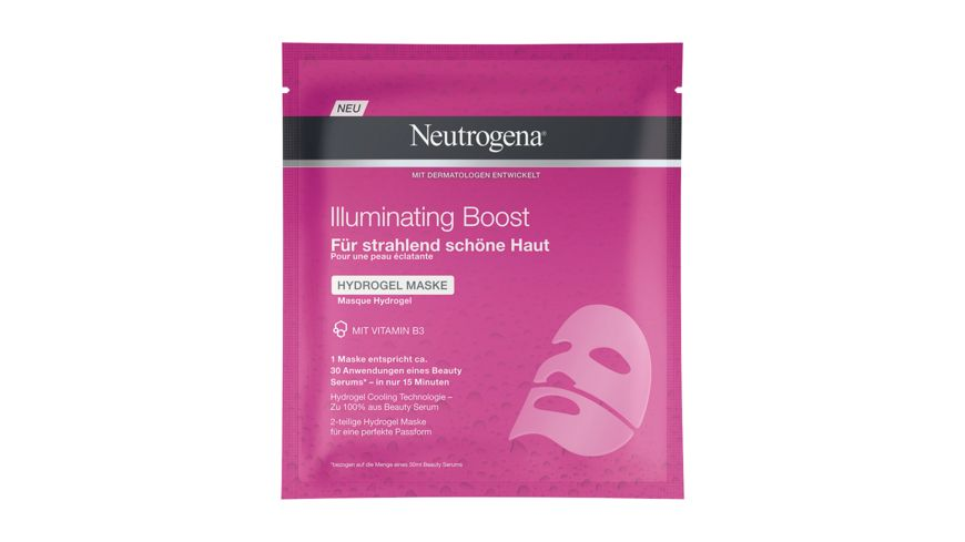 Neutrogena Maske Illuminating Boost Hydrogel