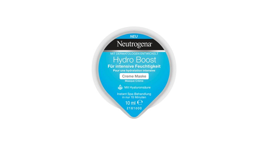 Neutrogena Hydro Boost Creme Maske