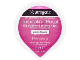 Neutrogena Illuminating Boost Creme Maske