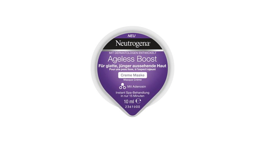 Neutrogena Ageless Boost Creme Maske