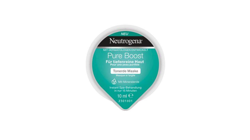 Neutrogena Pure Boost Tonerde Creme Maske