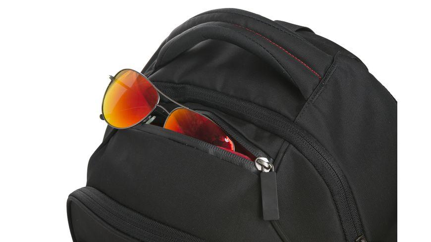 CLERK Schulrucksack Decent black