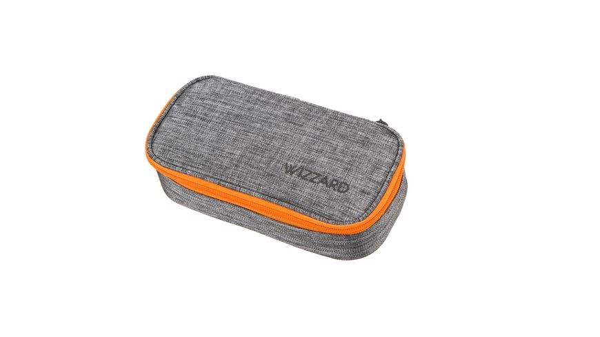 WIZZARD Stiftebox grey melange