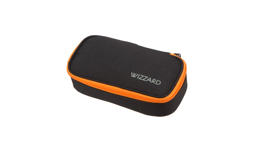 SCHNEIDERS Pencil Box Wizzard Black Melange